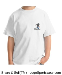 Go Musketeers - Youth White Design Zoom